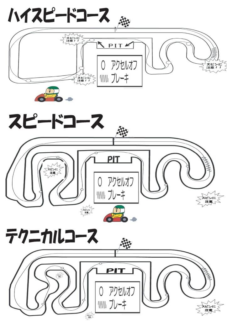 3コースライン図【浜名湖】