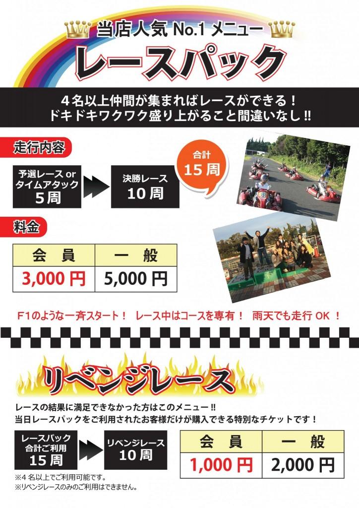 7P(裏)レースパック