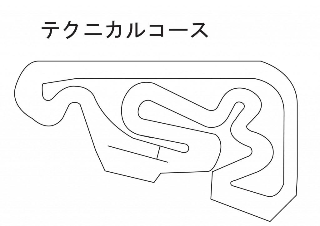 舞洲コース図(テクニカル)
